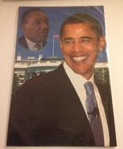 """PRESIDENT BARACK OBAMA POSTER MARTIN LUTHER KING WHITE HOUSE  17"""" x 11"""" - $14.75"""