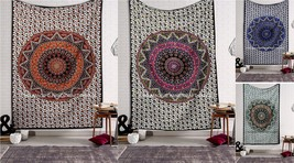 Urban Outfitters Tapestry Wall Hanging Star Mandala Twin Indian Hippie T... - $267,61 MXN