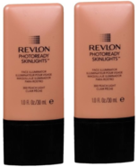 (2 Pack) - Revlon PhotoReady Skinlights Face Illuminator, Peach Light 300  - $32.94