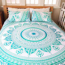 Ombre Mandala Wall Hanging Gypsy Indian Tapestry Bohemian Hippie Queen B... - $382,47 MXN