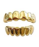 New Custom Fit Gold Plated Hip Hop Teeth Grillz... - $8.25