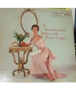 Perry Como - LP Record -A sentimental Date With Perry Como - $4.95