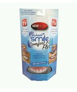 Instant Smile Comfort Fit Flex Teeth Top Cosmetic Veneer One Size Fits A... - $17.98
