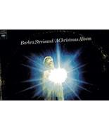 LP 331/3 ColumbiaRecords - Barbara Streisand - A Christmas Album - $3.95