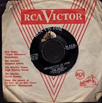 RCA Victor 45 Rpm Record -Bob Jaxon- Declaration Of Love & I'm Hurting I... - $2.95
