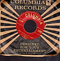Guy Mitchell -Knee Deep In The Blues &Tale me Back Baby -Columbia Records - - $3.50
