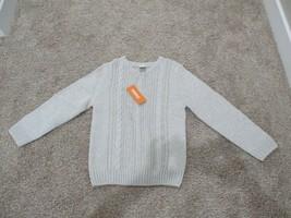 BNWT Gymboree Boys V-neck Cable Knit Casual sweater, cotton blend, size M(7-8) - $12.86