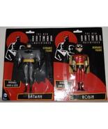 DC The New Batman Adventures Batman & Robin Bendable Figures Set - $14.95
