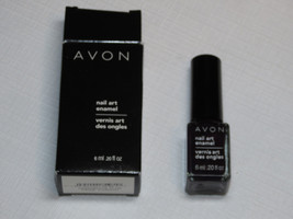 Avon Nail Art Enamel Passionate Plum 6 ml 0.20 fl oz nail polish mani pedi;; - $19.78