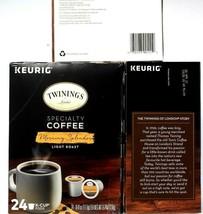 3 Keurig Twinings Coffee Morning Splendor Blend Light Roast 24 Pods BB 4-28-21 - $59.99