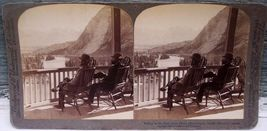 Hotel Observatory Bow Valley Banff Alberta Stereoview - $18.95