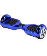 36v Blue Chrome (Bluetooth) Self Balancing MotoTec Scooter Hoverboard  (... - $418.46 CAD