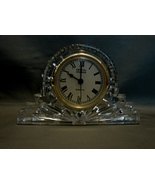 Crystal Legends  Crystal Mantel Clock - $11.00
