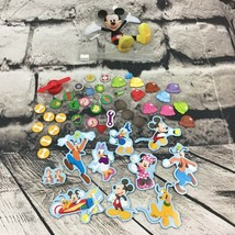 Disney Mickey Mouse & Friends Clubhouse Magnet Set With Pocket Case - $11.88