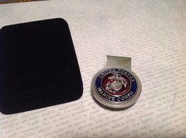 NEW Heritage Pewter USMC Clip On Pin Badge