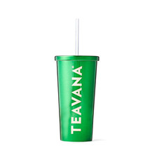 Starbucks Teavana Green Stainless Steel Cold Cup/16 oz - $28.66