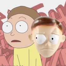 Rick And Morty Mask Helmet Halloween Cosplay Season Natural Platex Rick - $38.08 CAD