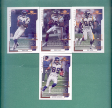2000 Upper Deck MVP Minnesota Vikings Football Set - $1.50