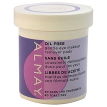 Almay Oil-free Eye Makeup Remover Pads 80 Pads - $8.90