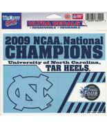 "NCAA North Carolina Tarheels Wincraft Multi-Use Ultra Decal Cling ""5x6""  - $6.95"