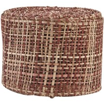 Arts Craft Natural Abaca Burlap Chocolate 4-Inch by 10-Yard 4 Inch - $21.60