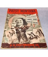 Patsy Montana Country Western Cowgirl Songbook ... - $9.95