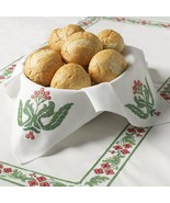 Bucilla Stamped Cross Stitch Bread Cover Kit Victorian Frieze 86592 - $20.99