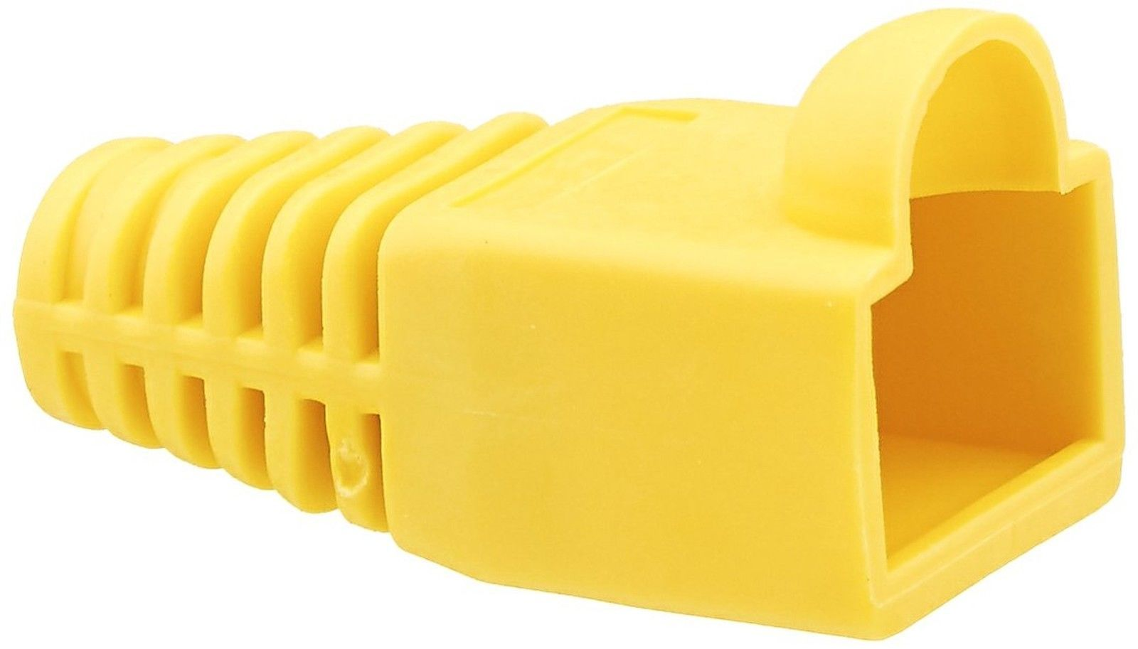 C2G / Cables to Go 4756 RJ45 Plug Cover (6.0mm Yellow) - $19.86