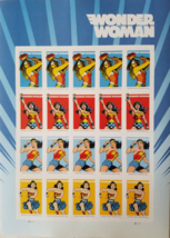 DC Comics WONDER WOMAN 2016 75th Anniversary 1st Class (USPS)  FOREVER S... - $14.95