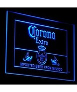 CORONA EXTRA BEER  SIGN LED  NEON LIGHT SIGN    BAR BEER PUB HOME GIFTS  HAPPY H - $24.99