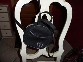 Girls small back back style handbag in black wi... - $5.50