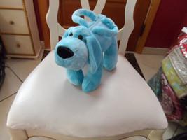 Teal blue Puppy handbag from Teddy Bear Stuffers - $7.50