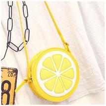 Women Messenger Bags Lemon Shape SmallBag Circu... - $7.00