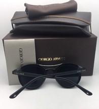 New GIORGIO ARMANI Sunglasses AR 8008 5017/58 54-20 Black Frame w/ Grey ... - $249.95