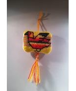 Frito Pollito Needlepoint Pincushion Ornament - $10.75