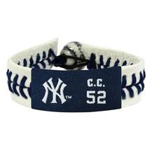 "MLB C.C. Sabathia ""CC"" Authentic Jersey Bracelet - $23.09"