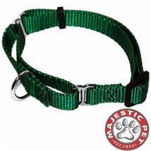 Majestic Pet Martingale Dog Collar green xl - $18.06