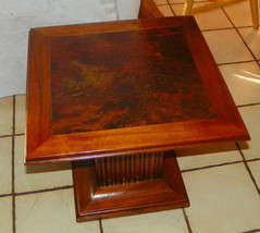 Square Pier End Table / Side Table - $299.00