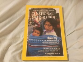 National Geographic August 1984 - $1.25