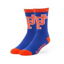 NCAA Men's '47 Bolt Casual Dress Crew Socks, 1-Pack, Florida Gators - $21.88