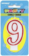 """Number """"9"""" Birthday Cake Candle Birthday Party - $3.67"""