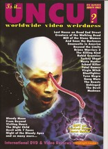 Is It Uncut? Magazine #15 From Beyond Bloody Moon Unhinged Madman Horror - $19.95