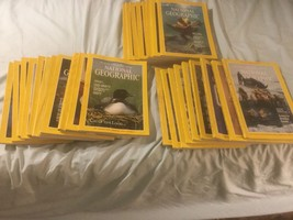 National Geographic Lot 28 Magazines (11)1989, (8) 1985, (9) 1984 No Duplicates - $19.25
