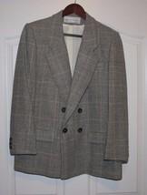 Vintage Evan Picone WOOL COAT BLAZER Jacket Siz... - $29.65