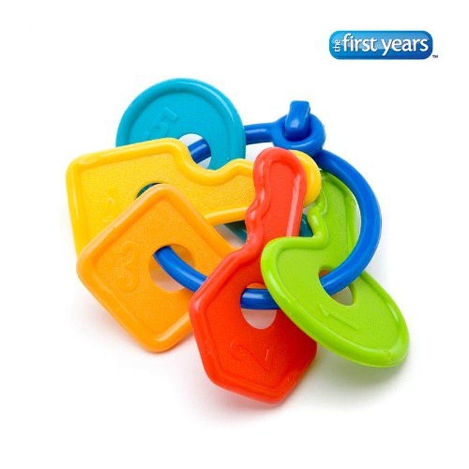 THE FIRST YEARS Larning Curve First Keys Teether 1 Set