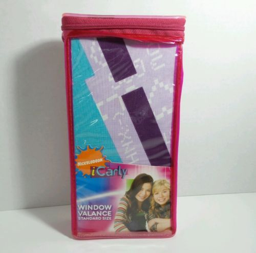 Nickelodeon iCarly Window Valance still in package