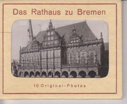 VTG Complete Pack Das Rathaus zu Bremen-Black/White-10 Orig Photographs-... - $32.71