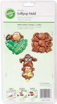 Wilton 2115-2100 Lollipop Mold Monkey 3 Cavities/3 Designs - ₨363.63 INR