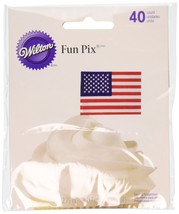 Wilton 2113-704 Patriotic Party Picks 40-Pack - $4.96