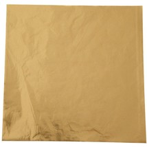 Wilton Foil Candy Wrappers 4 by 4-Inch Gold 50-Pack Pack of 50 - $4.99